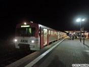 In Ulzburg-Süd heißt es Abschied nehmen vom VT2.37. Ein Abschied auf Zeit.