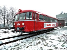 Der Uerdinger Schienenbus aus der Nähe, die anderen Fahrzeuge müssen nicht näher gezeigt werden, da sie aus dem Regelbetrieb den Allermeisten bekannt vorkommen ;)