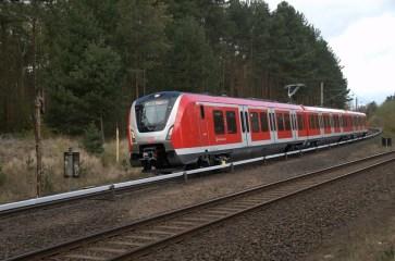 490 100 auf Probefahrt in Hennigsdorf bei Berlin - Foto: Motorstromwähler (DSO)