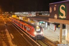 In Poppenbüttel. Kurze Zeit stand S11 Altona angeschrieben, leider klappte hiervon kein Foto.