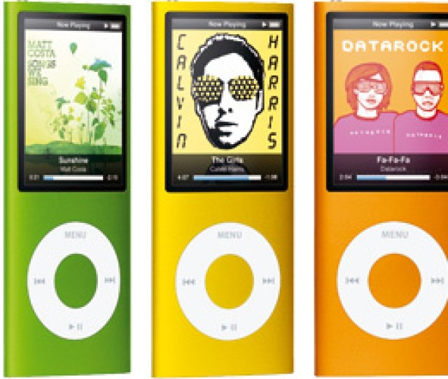 Just When You Thought Youd Decided Which Colour Ipod Nano To Buy Apple