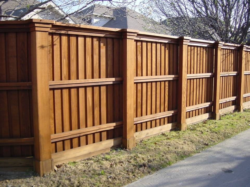 wooden fence chicago wood