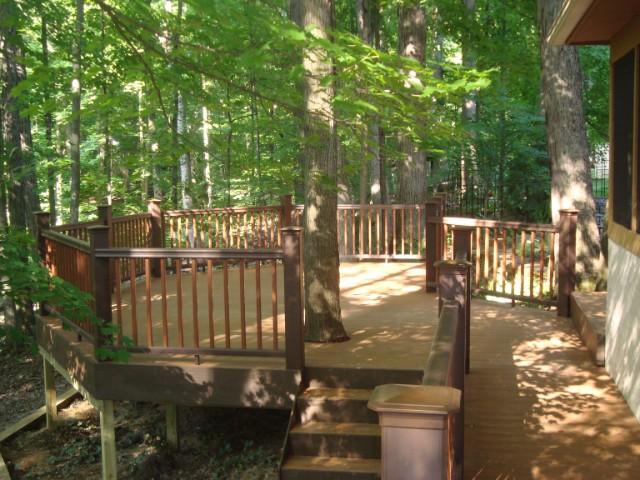 deck gallery buckeye deck fence patio