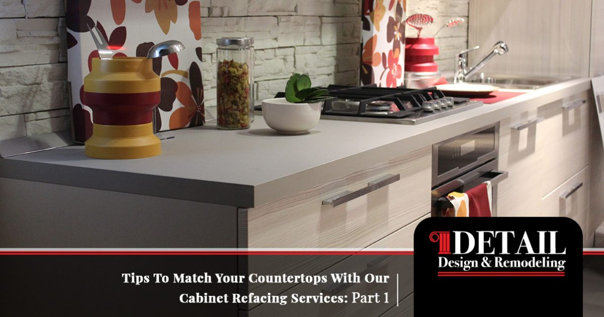 If you're tired of your kitchen cabinets and ready for a change, you have an important decision to make: Cabinet Refacing Atlanta Tips To Match Your Counters And Cabinets