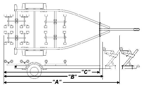boat trailer schematics