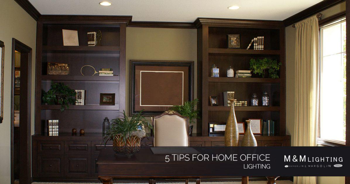 5 tips for home office lighting