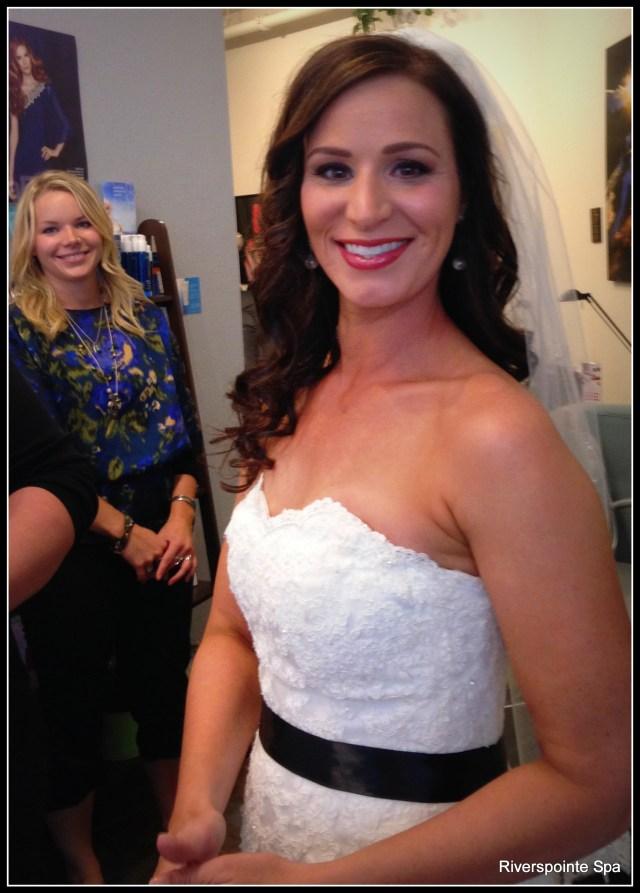 bride hair and makeup 2014 | riverspointe spa