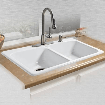 cast iron kitchen sinks cabinet designs in india what to know when choosing a sink robins plumbing