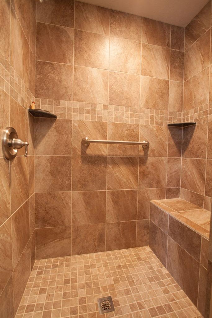 Bathroom Remodel  Get Custom Showers  The Flooring Nook