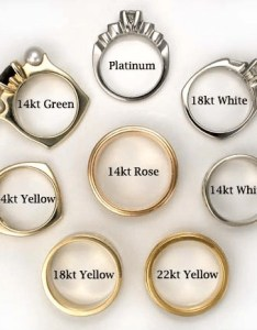 Different karats mean the gold and silver exchange also what do rh thegoldandsilverexchange