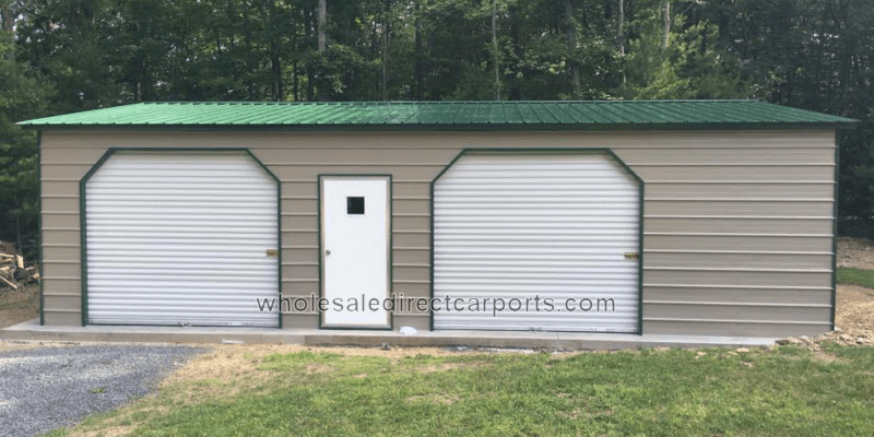 Enclosed Metal Garages For The Perfect Metal Garage