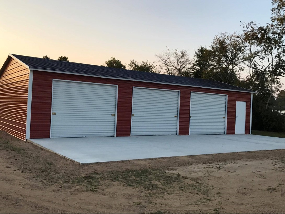 Enclosed Garage Customization Options | Wholesale Direct ...