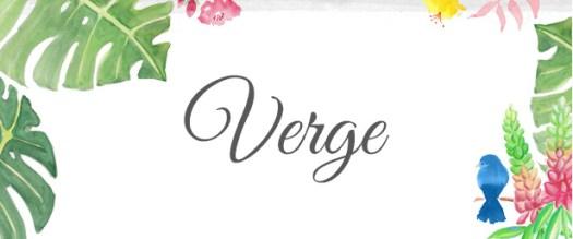 Verge Blog Title Graphic