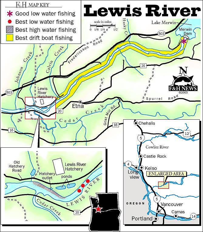 Lewis River Salmon Fishing Lip Rippers Fishing
