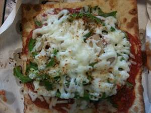 subway veggie flatizza photo