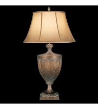 Fine Art Lamps 179310st Verona 1 Light Table Lamp In Gold ...