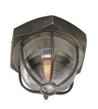 Troy Lighting C3891 Acme 1 Light Flush Mount In Aged ...