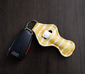 ZARIO Chapstick Holder Keychain