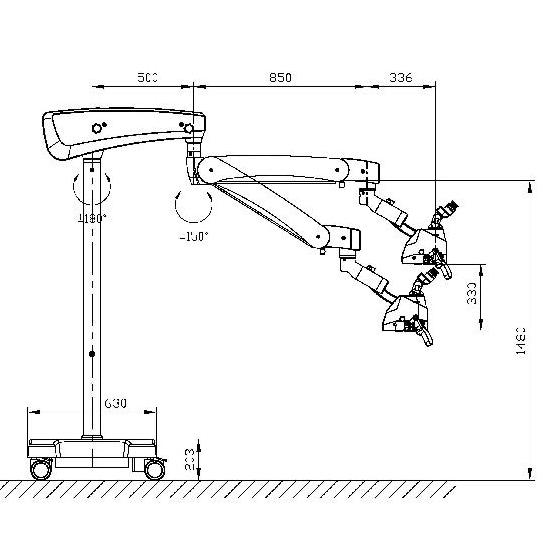 Zumax Dental Microscope OMS 3200