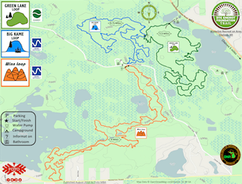See the Trail : DTE Energy Foundation Trail Dte Energy Map on