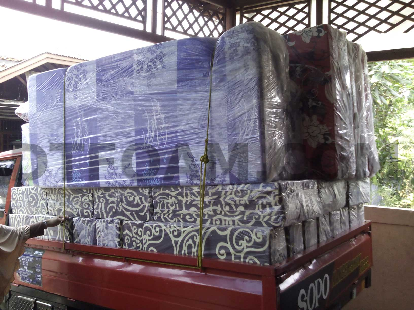 sofa bed kasur busa lipat inoac jakarta coaster roy reviews murah dtfoam com