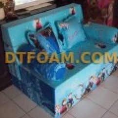 Sofa Bed Kasur Busa Lipat Inoac Jakarta Double Reclining With Fold Down Table Anak Karakter Kartun Mickey Mouse Kuning ...