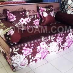 Sofa Bed Kasur Busa Lipat Inoac Jakarta Sectional Sofas And Recliners Mawar Merah Tua Dtfoam Com