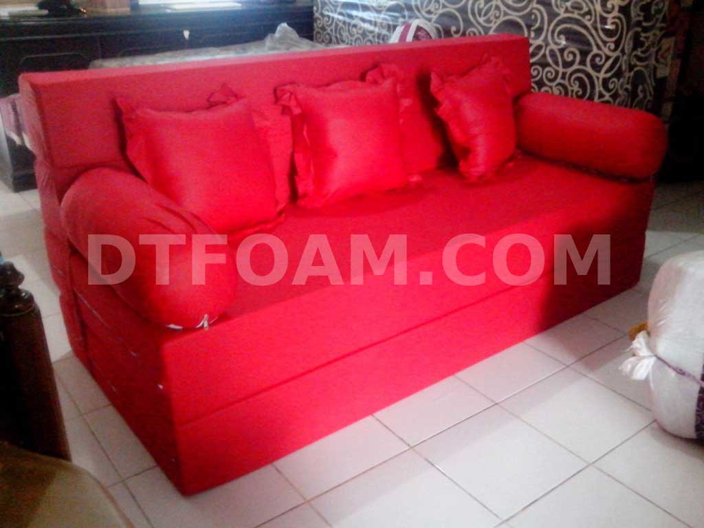 sofa bed kasur busa lipat inoac jakarta kirkland 2 pc sectional w queen sleeper dtfoam com