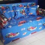 harga cover sofa bed inoac where can i donate my old uk untuk anak motif karakter kartun cars biru ...