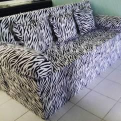Harga Cover Sofa Bed Inoac Leather Repair Richmond Bc Dtfoam Com Zebra Hitam Putih Bagus Awet
