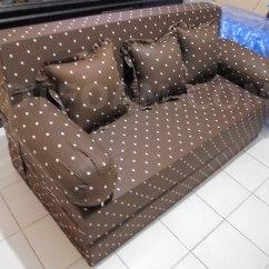 Harga Cover Sofa Bed Inoac Twin With Storage Doraemon Dtfoam Com Murah Dottie Coklat Minimalis