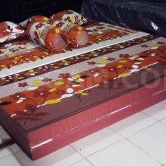 Harga Sofa Bed Inoac Cikarang Black Velvet Chesterfield Kasur Autumn Lapis Merah Maroon3 Dtfoam Com