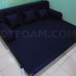 Harga Sofa Bed Inoac Cikarang Chippendale Sofas Tempat Tidur Biru Tua Gelap Dongker Polos Open