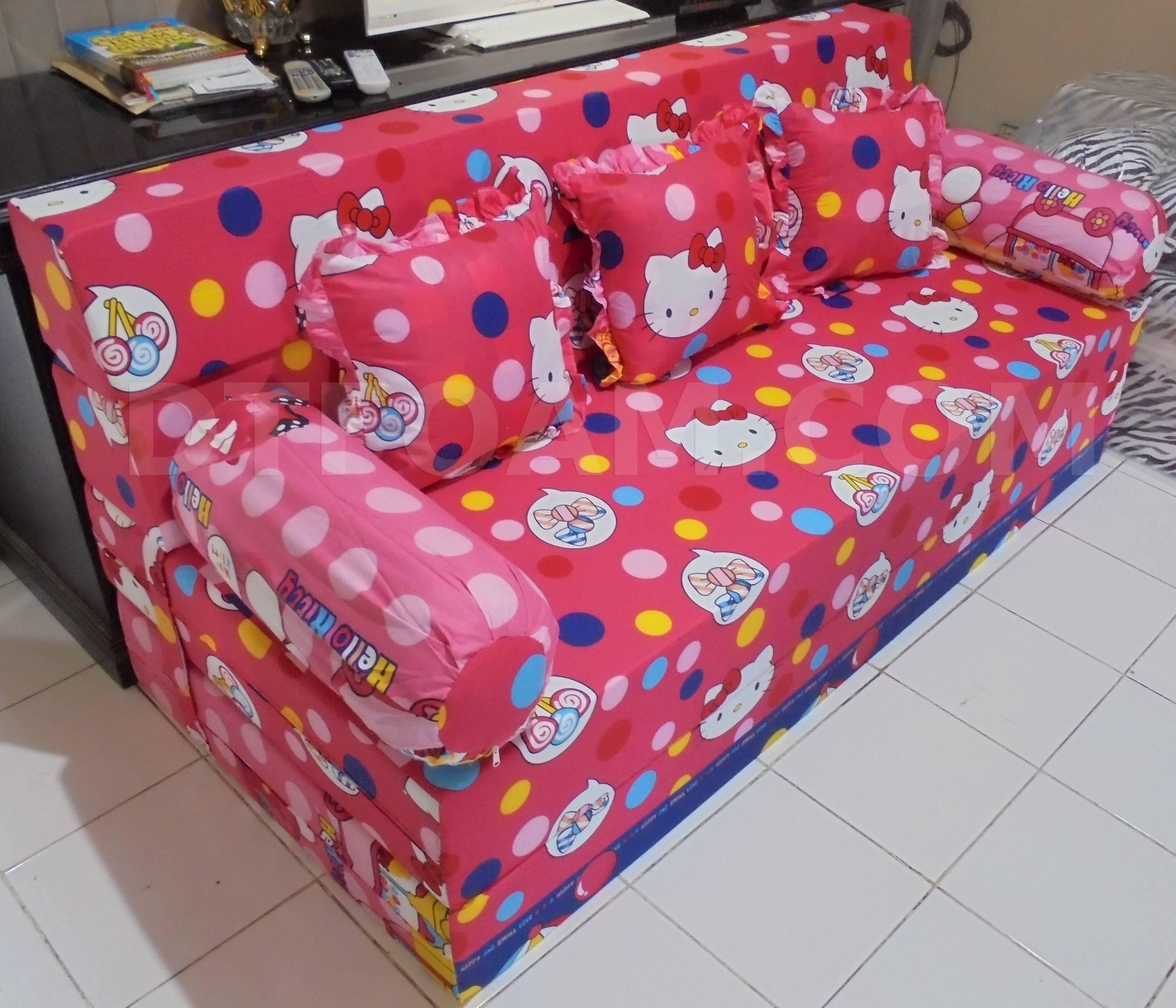sofa bed kasur busa lipat inoac jakarta cheap outdoor sectional 74 chandra karya pramuka sobhome
