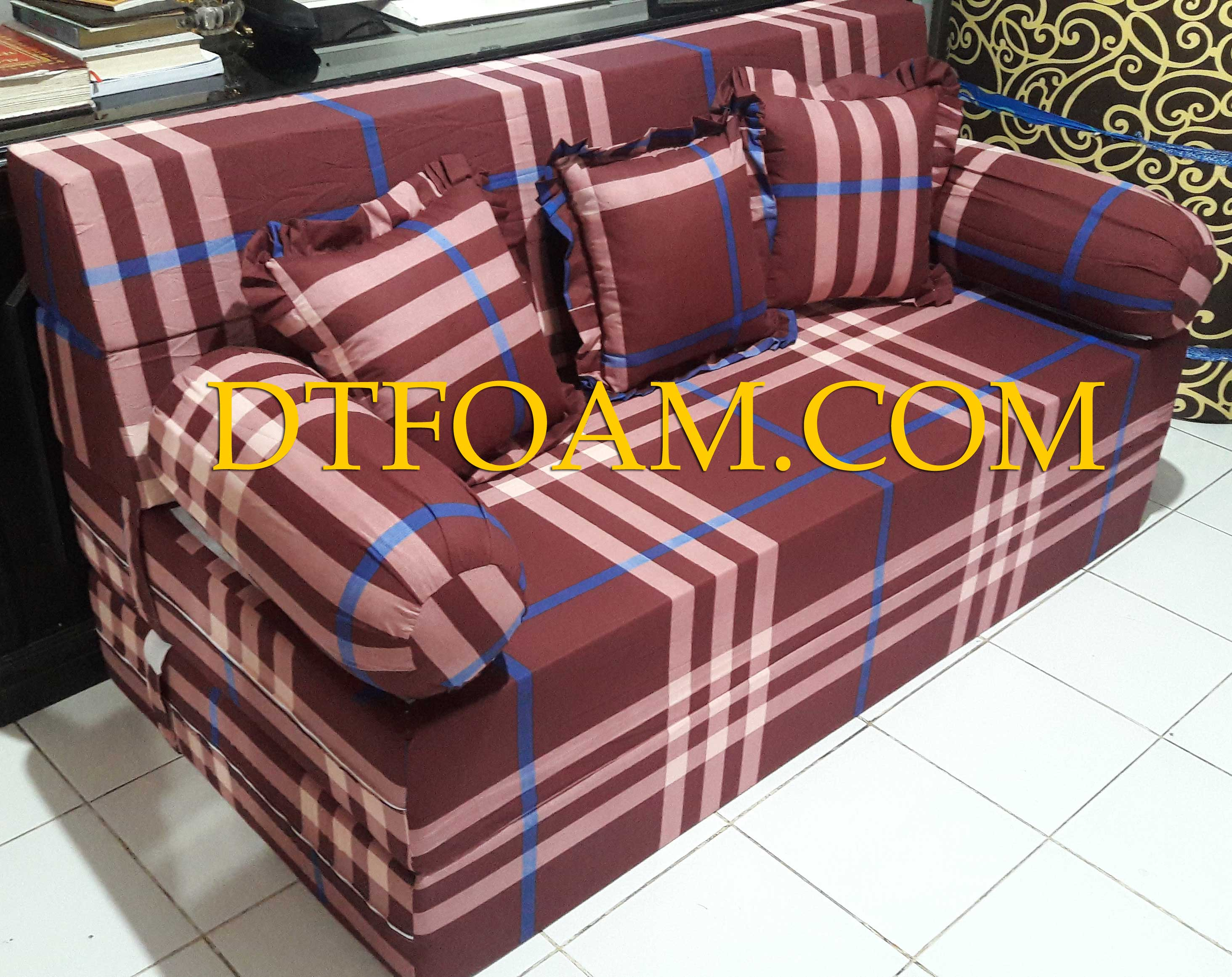 sofa bed kasur busa lipat inoac jakarta slipcovers for chaise lounge murah dtfoam com