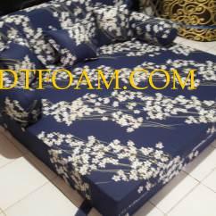 Jual Sofa Bed Murah Di Jakarta Selatan Grey Purple Cushions Timur Bunga Mekar Lili Warna Biru Gelap