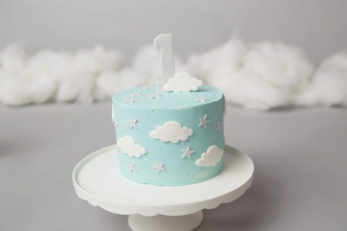 Cake Smash Glasgow - first birthday cake