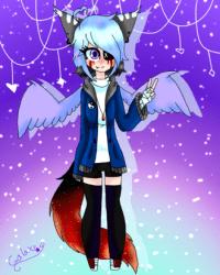 Anime Galaxy Wolf Girl Materi Pelajaran 6
