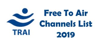 Free to Air Channels in india 2019 list
