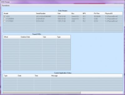 Corrupt VHD Deleted File Finder
