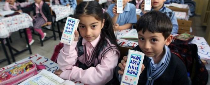 Tausend türkische Kinder wegen Schulmilch in Krankenhäusern