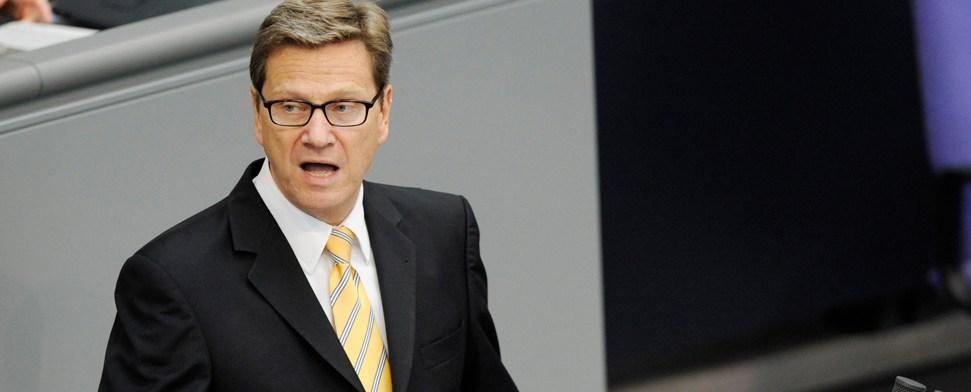 Westerwelle will EU-Geld besser verteilen
