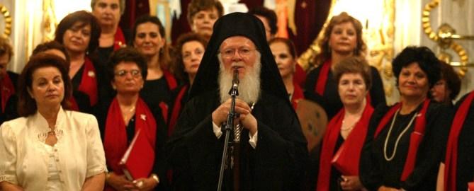 "Patriarch Bartholomaios erhält den""Four Freedoms Award"""
