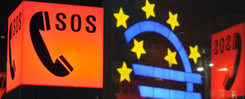 Euro fällt unter 1,28 Dollar - Streit um Einführung von Eurobonds
