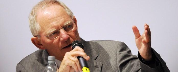 Schäuble: Keine Hilfe ohne Voraussetzungen
