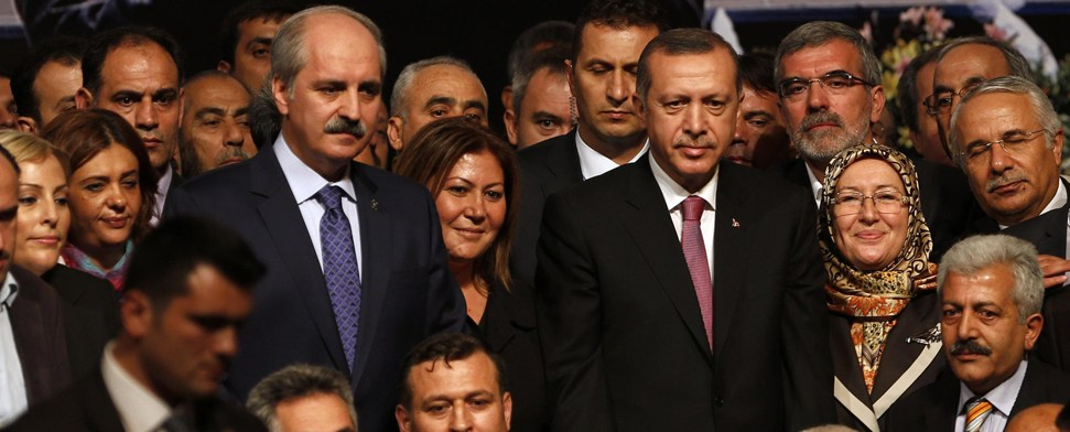 Letzte Kandidatur Erdoğans zum Parteivorsitz