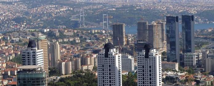 Boomendes Finanzzentrum am Bosporus