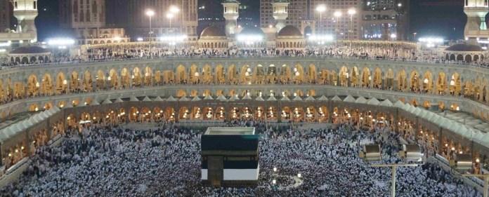 Drei Millionen Gläubige in Mekka
