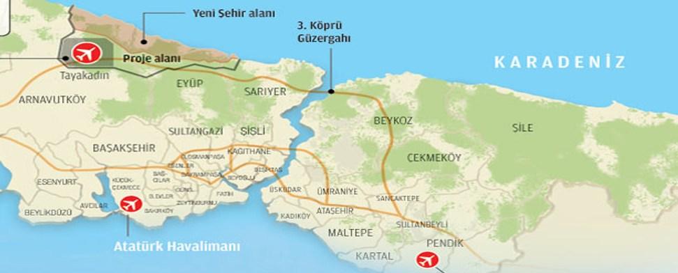 100.000 neue Arbeitsplätze im Norden der Bosporusmetropole