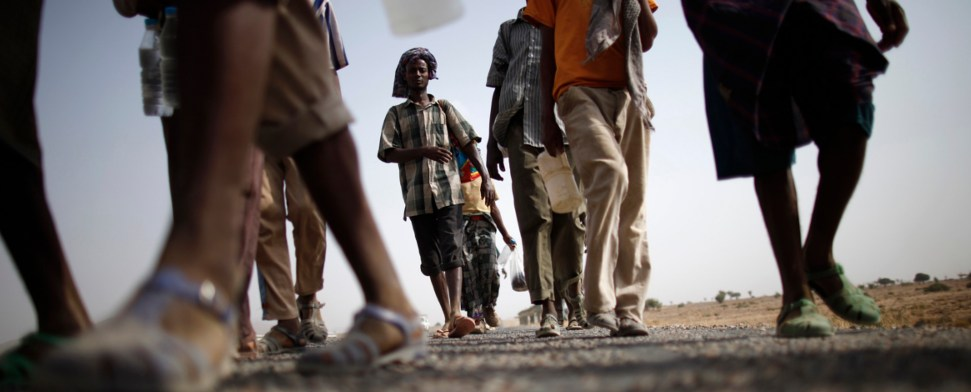 Verhandlungen im Nachbarland Äthiopien sollen dem Blutvergießen im Südsudan ein Ende setzen.